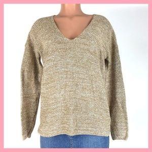 H & M Conscious Women's Sweater Size S Beige